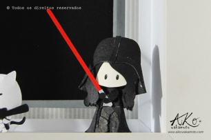 Darth Vader versão menininha